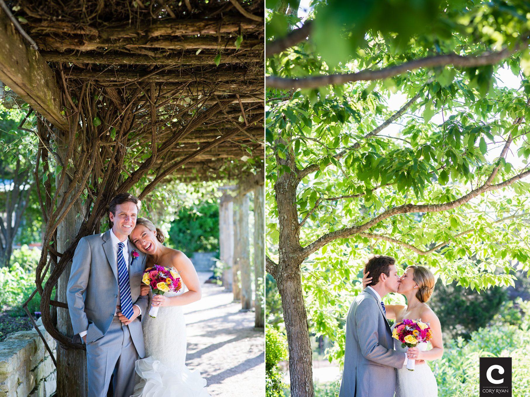 Wedding Portaits Wildflower Center Erfly Garden
