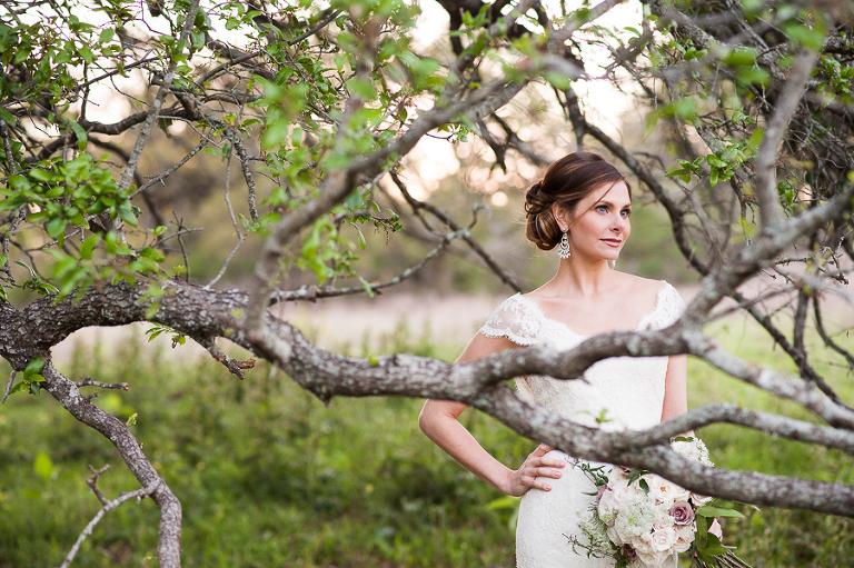ranch bridal portraits