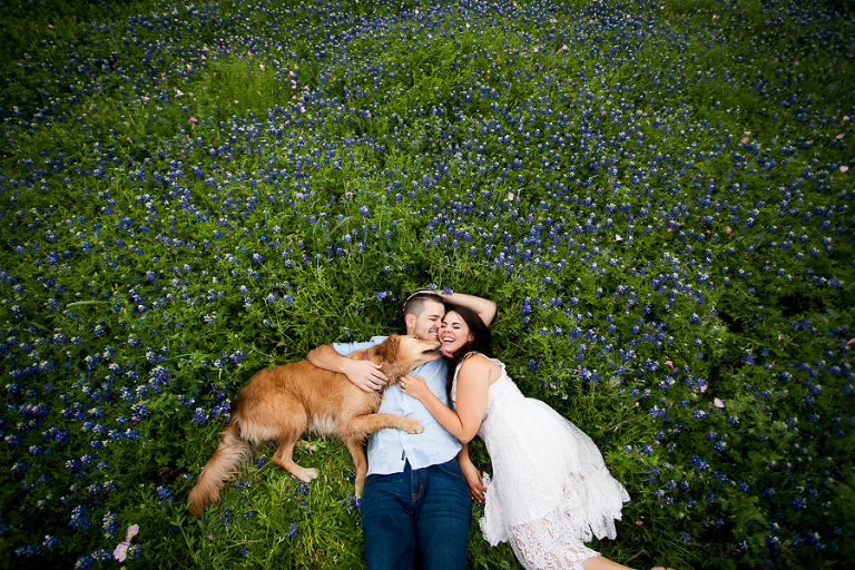 austin engagement photographers bluebonnets