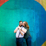 colorful austin engagement photographers