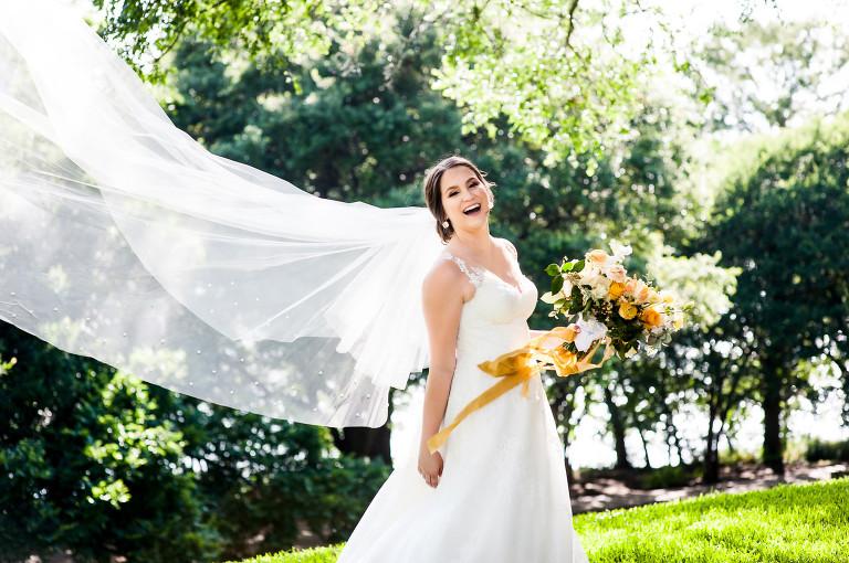 Happy fun bridal photos