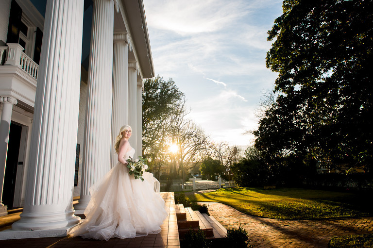 Sunset Bridal Portraits in Round Rock